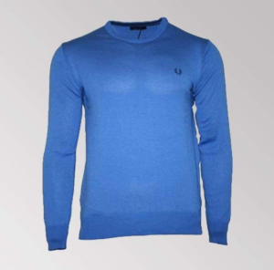 JERSEY FRED PERRY PICO AZUL